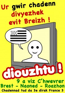 Pour une chaîne de télévision publique bilingue en Bretagne