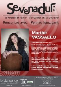 Rencontre avec Marthe VASSALLO